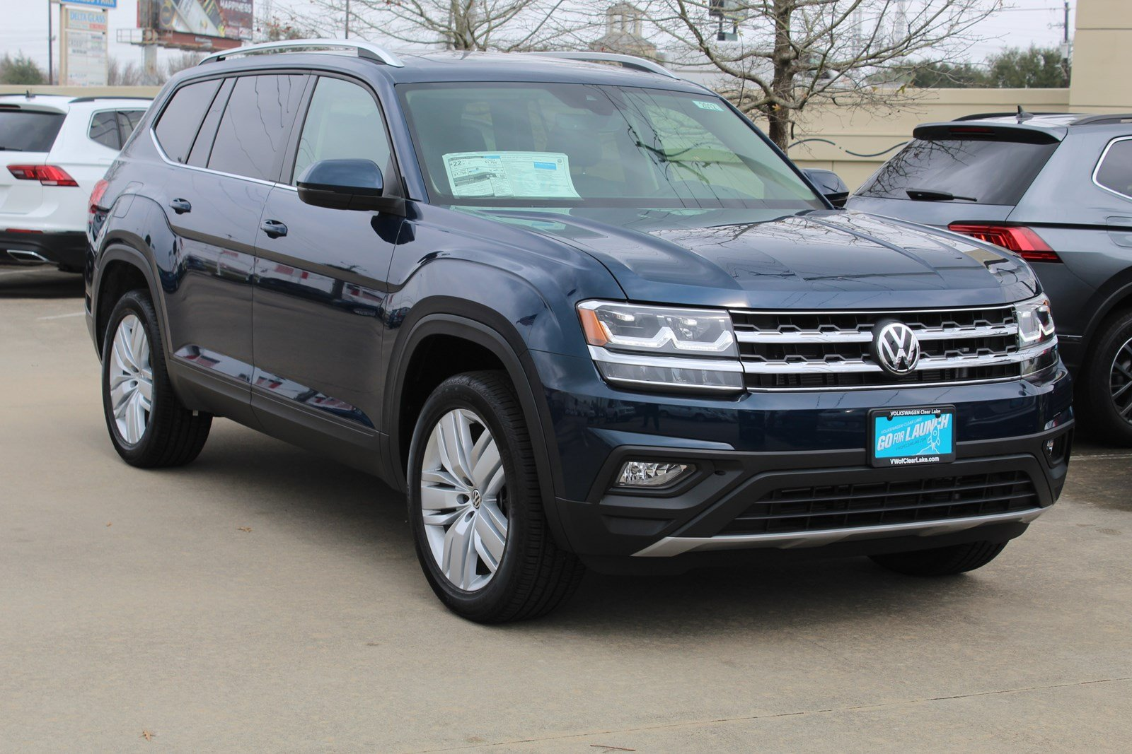 New 2019 Volkswagen Atlas 2.0T SE w/Technology